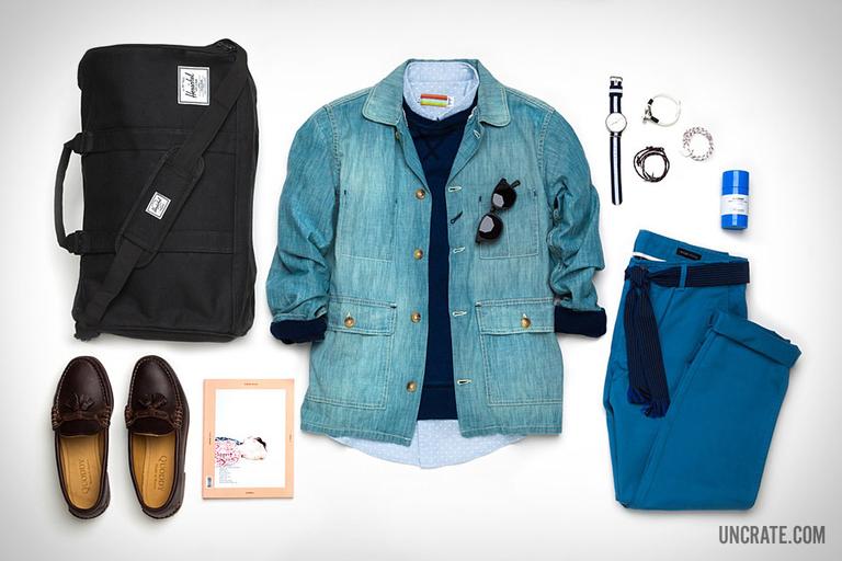 Garb: Blue & Blue