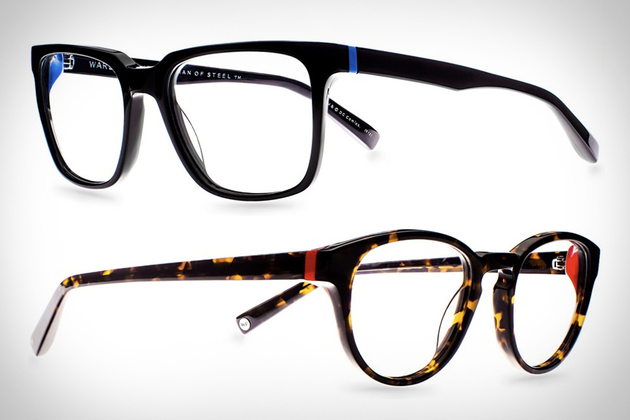 Warby Parker Man of Steel Collection