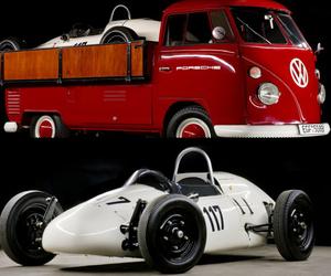 1964 Volkswagen Pick-up With Porsche Formula V