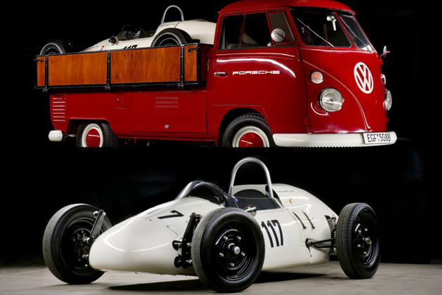 1964 Volkswagen Pick-up With Porsche Formula V