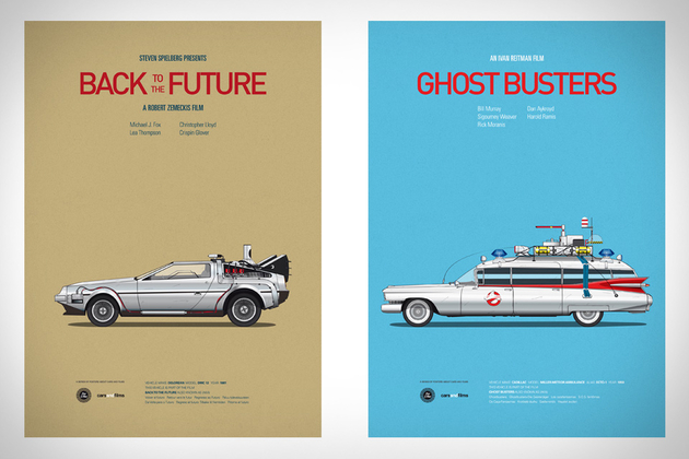 Cars & Films Prints