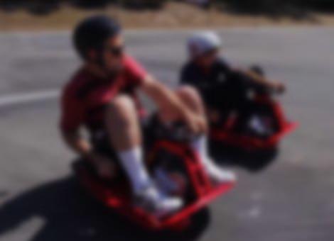 Driftable Go-Kart