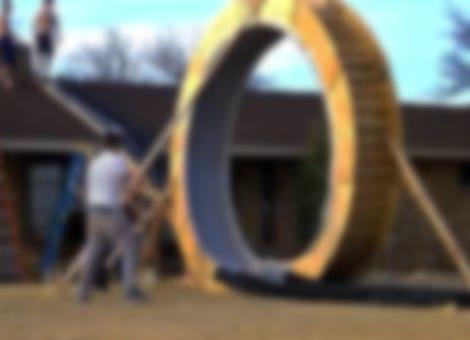 Giant Slip 'N Slide Loop