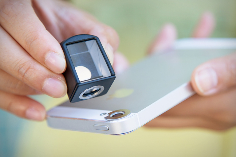 Smartphone Spy Lens