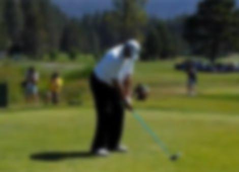 Charles Barkley's Golf Swing