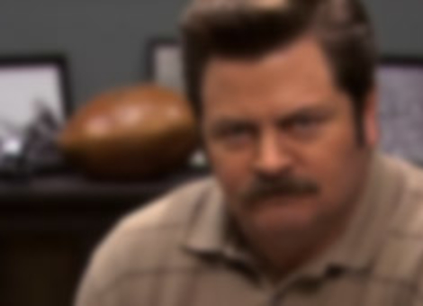 The Many Emotions of Ron Swanson