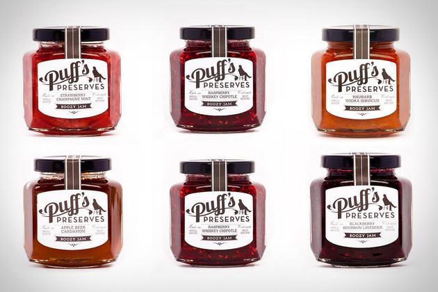 Puff's Preserves Boozy Jam