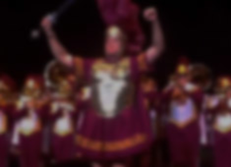 Will Ferrell Leads USC Marching Band