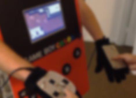 Playable Gameboy Costume