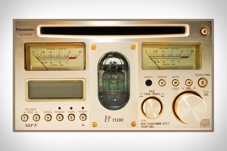 Panasonic CQ-TX5500D Vacuum Tube Car Stereo