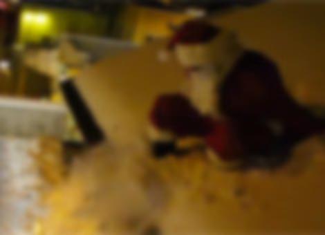 Parkour Santa