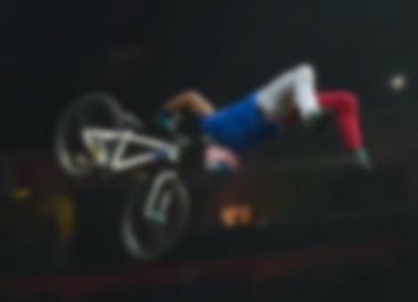 World's First Superman Double Backflip On A Mountain Bike