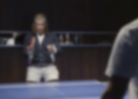 Schwarzenegger Ping Pong