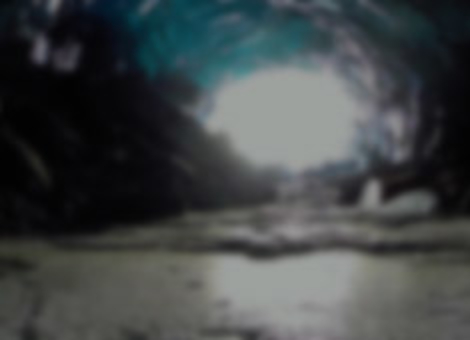 Alaskan Ice Caves Drone Tour