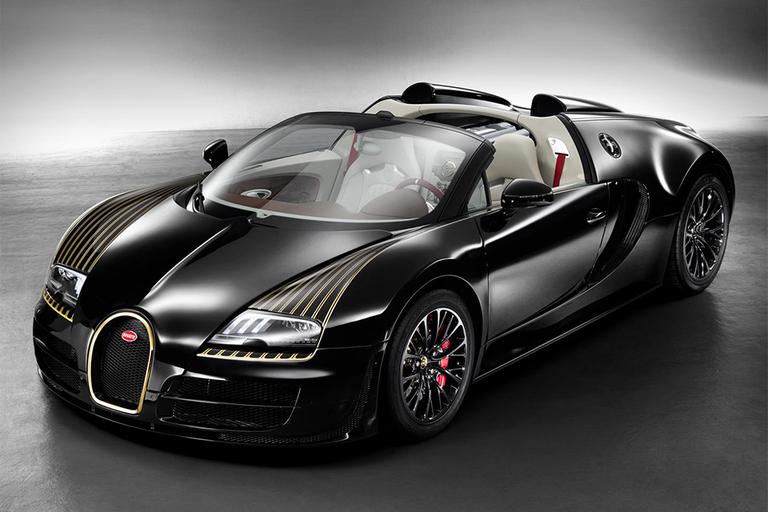 Bugatti Veyron Grand Sport Vitesse Black Bess Edition