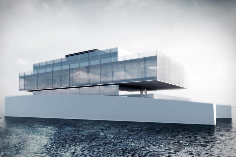Lujac Desautel Glass Yacht