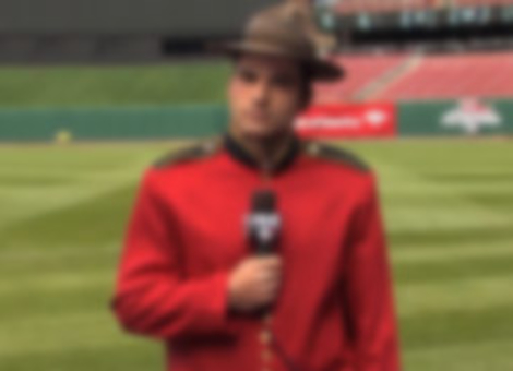 Joey Votto Is A Mountie