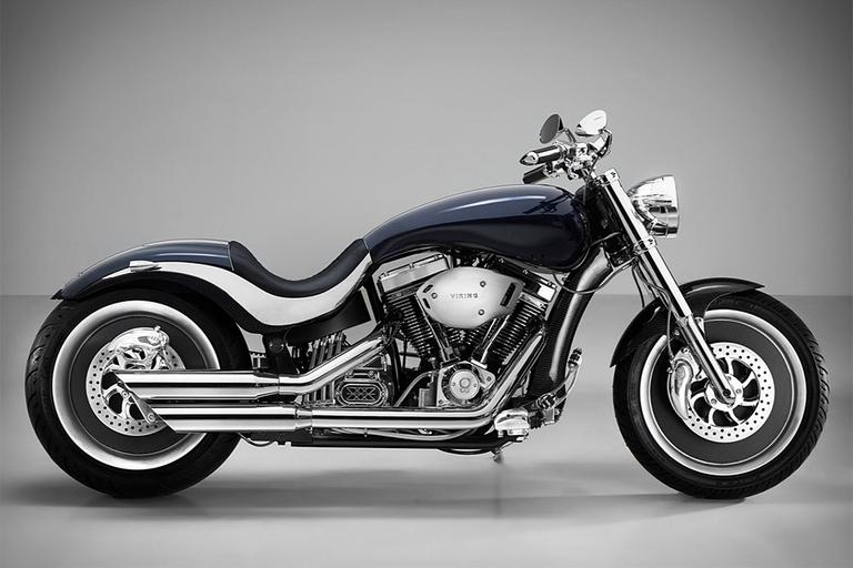 Lauge Jensen x Henrik Fisker Viking Motorcycle