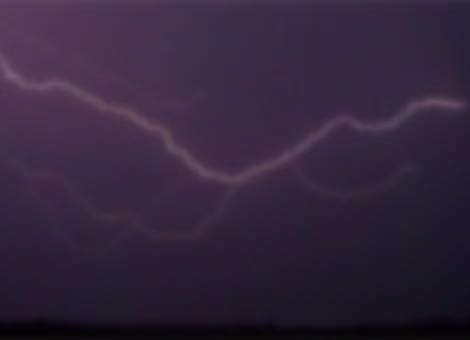 Super Slow Motion Lightning