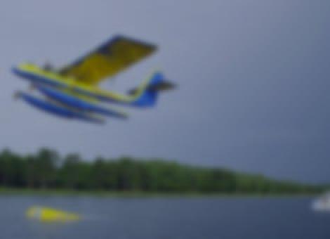 Barefoot Skiing Behind An Airplane