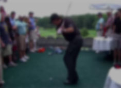 Phil Mickelson Lands In Hospitality Tent Twice