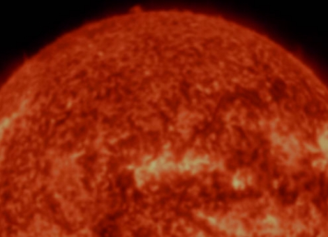 A Time-Lapse Of The Sun