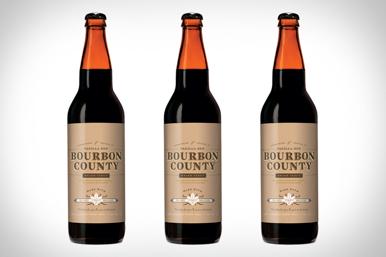 Bourbon County Vanilla Rye Beer
