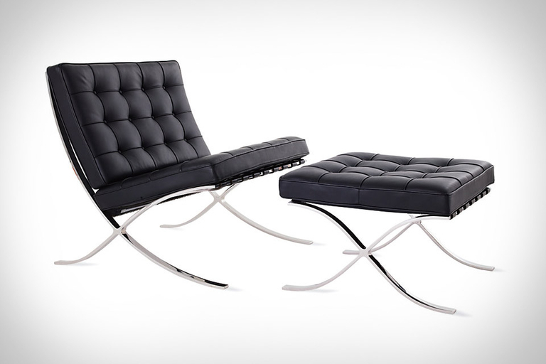 The Barcelona Chair by Ludwig Mies van der Rohe