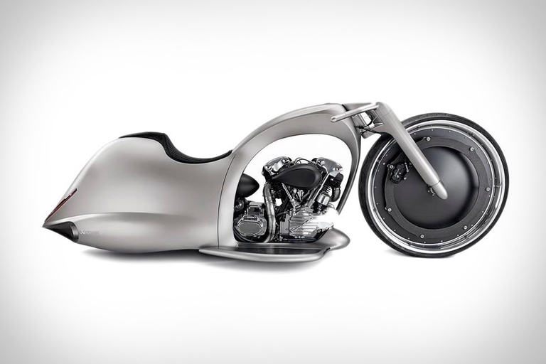 Akrapovic Full Moon Concept Motorcycle