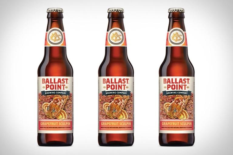 Ballast Point Grapefruit Sculpin Beer