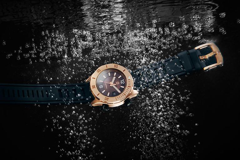 Zelos Abyss Bronze Dive Watch