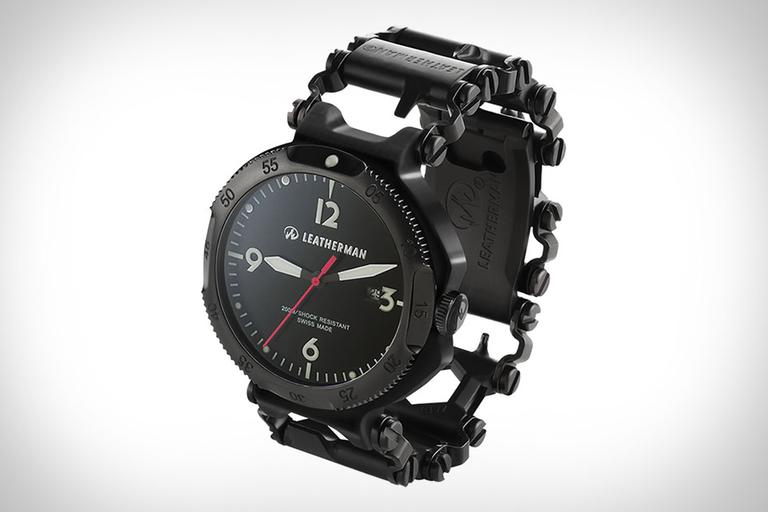 Leatherman Tread QM1 Multi-Tool Watch