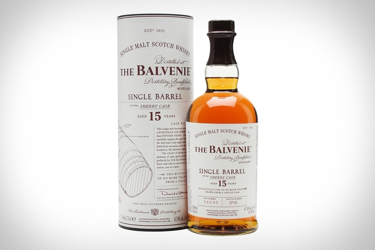 Balvenie 15 Single Barrel Scotch Whiskey