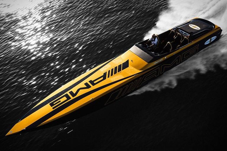 Cigarette Racing X Mercedes Marauder GT S Boat