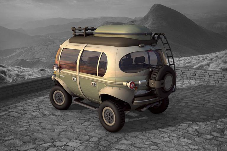 Hemisferio Criativo Nimbus E-Car