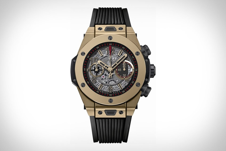 Hublot Big Bang Unico Full Magic Gold Watch
