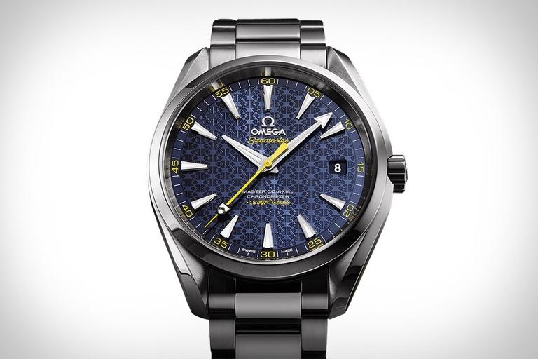 Omega Seamaster Aqua Terra James Bond Edition Watch