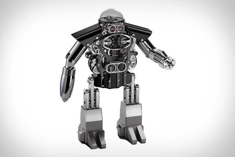 MB&F Melchior Robot Clock