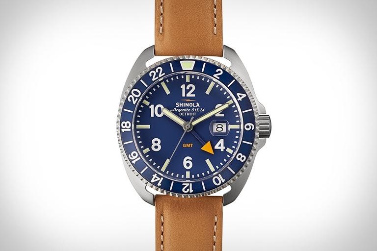 Shinola Rambler GMT Watch