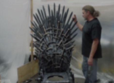 The Real Iron Throne