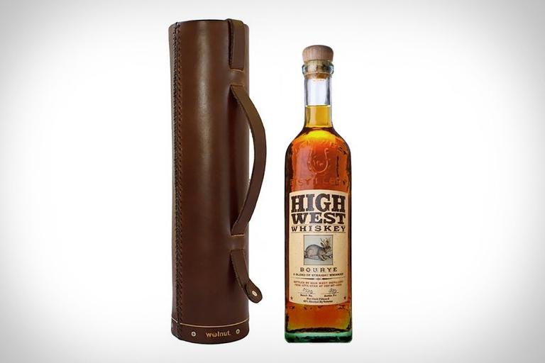 Walnut Whiskey Case