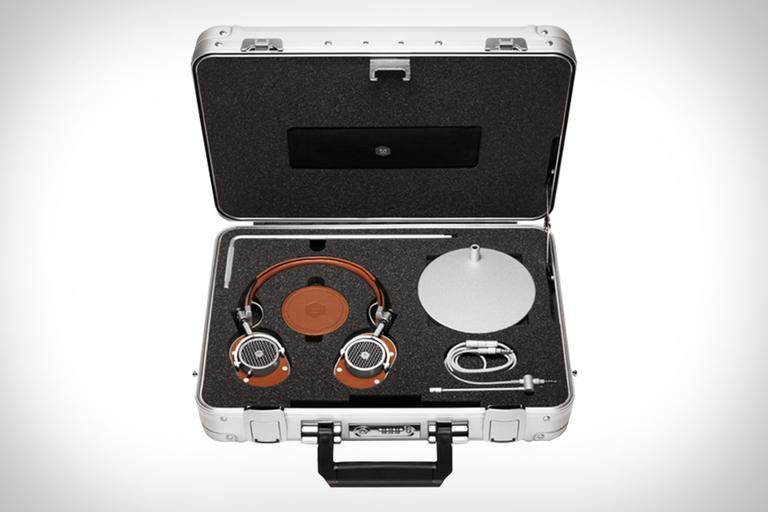 Master & Dynamic Headphone Halliburton Kit