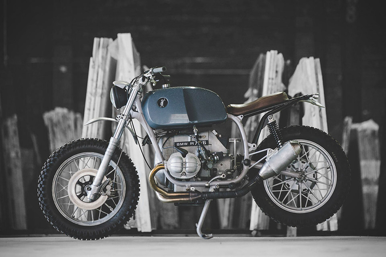 Tim Harney 1976 BMW 75/6 Motorcycle