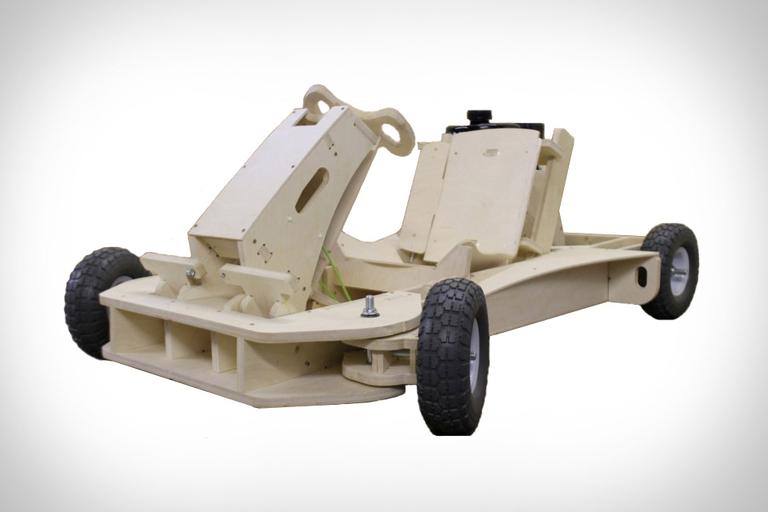 PlyFly Wooden Go-Kart