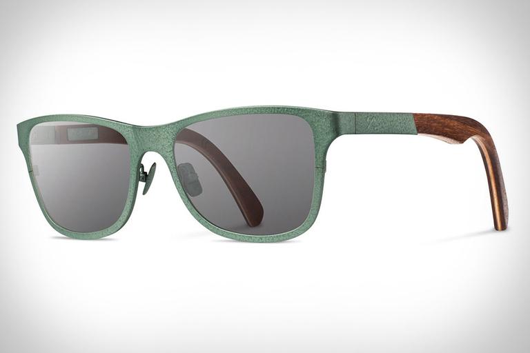 Shwood x Stanley Titanium Hammertone Sunglasses
