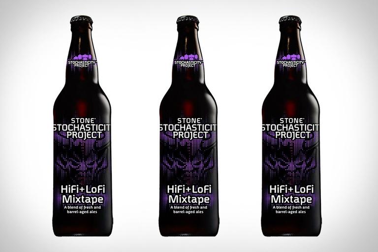 Stone HiFi + LoFi Mixtape Beer