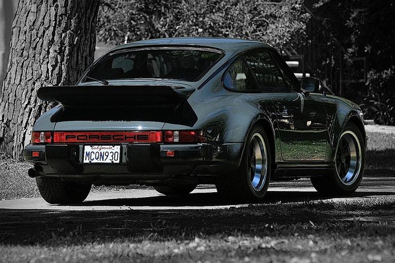 Steve McQueen's 1976 Porsche 930 Turbo Carrera
