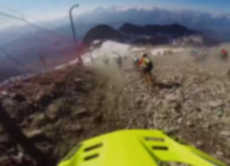 Megavalanche Glacier Carnage