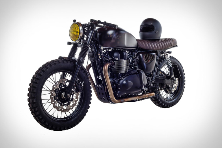 David Beckham's British Customs DBSC Motorcycle