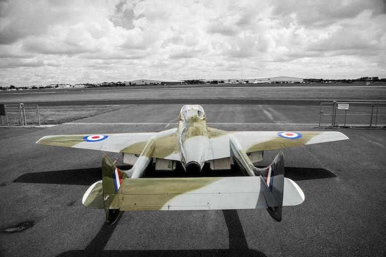 1958 De Havilland Vampire T55 Jet